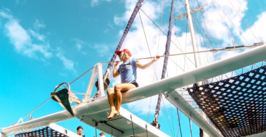 Lanai Coastal Snorkel Sail