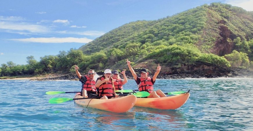 Makena Group Kayak Snorkel Tour