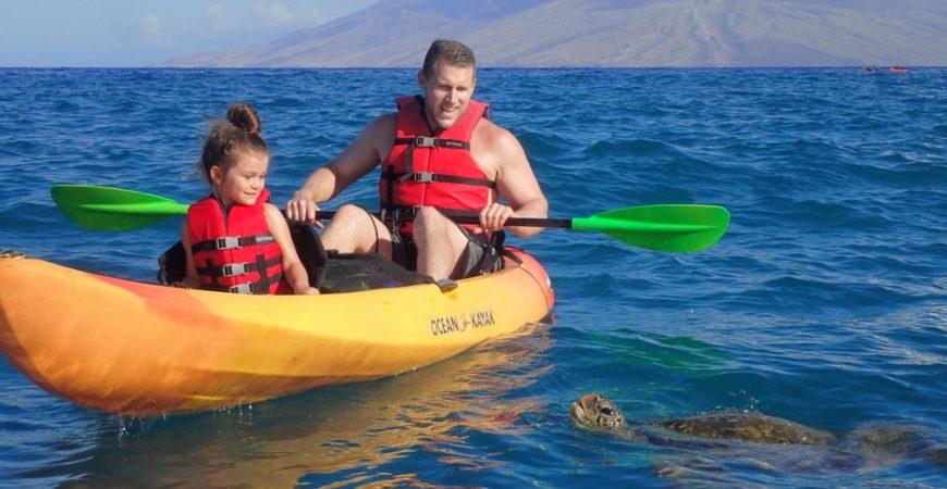 Makena Private Kayak Snorkel Tour