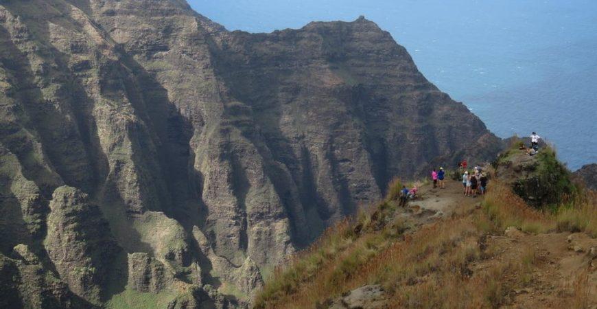 Napali Coast Cliff Top Hike