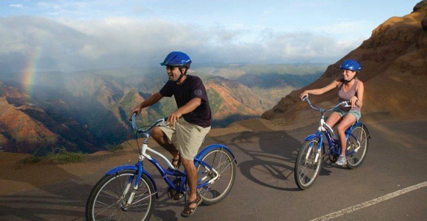 Downhill Bike Ride – Waimea Canyon