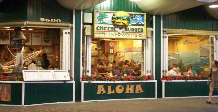 Cheesburger in Paradise – Waikiki